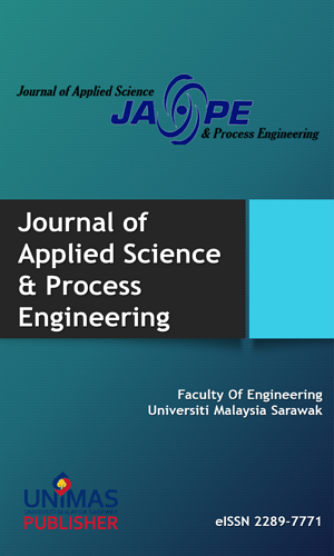 Journal of Applied Science & Process Engineering; JASPE; Applied Science; Journal; Process Engineering; Chemical Engineering