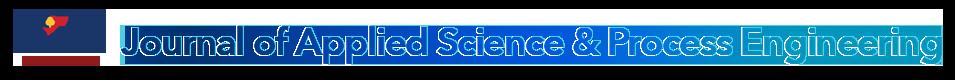 Journal of Applied Science & Process Engineering; JASPE; UNIMAS Journal; Online journal; chemical engineering
